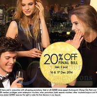 Read more about G2000 20% Off Final Bill Promo 16 - 17 Dec 2014