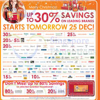 Read more about Guardian Up To 30% Off Post Christmas Promo 25 - 31 Dec 2014