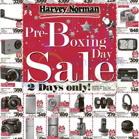 Harvey Norman Pre-Boxing Day Sale Offers 25 26 Dec 2014