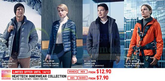 Heattech Innerwear Collection
