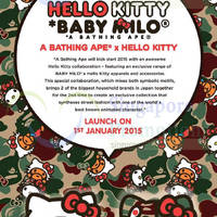 Read more about Hello Kitty Baby Milo A Bathing Ape Launch @ Mandarin Gallery 1 Jan 2015