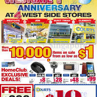 Read more about Courts West Outlets First Anniversary Specials 15 - 21 Dec 2014