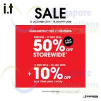 Read more about I.T Labels Sale 17 Dec 2014 - 18 Jan 2015