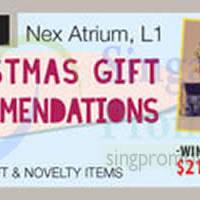 Read more about Isetan Christmas Gift Event @ Nex 15 - 25 Dec 2014