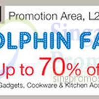 Read more about Dolphin Fair @ Isetan Tampines 15 - 24 Dec 2014