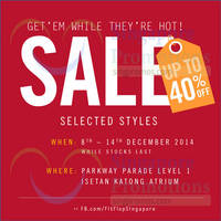 Read more about Fitflop Up To 40% Off @ Parkway Parade 8 - 14 Dec 2014