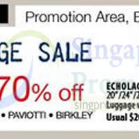 Read more about Isetan Up To 70% Off Luggage Sale @ Isetan Orchard 1 Dec 2014