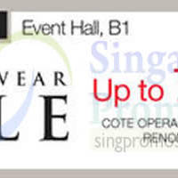 Read more about Isetan Men's Wear Sale @ Westgate 15 - 28 Dec 2014
