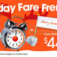 Jetstar From $44 7hr Promo Air Fares 19 Dec 2014