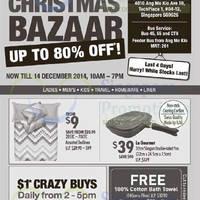 Read more about John Little Christmas Bazaar @ Ang Mo Kio 11 - 14 Dec 2014