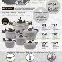 Read more about John Little 20% Off Roichen Cookware Offer 4 - 25 Dec 2014