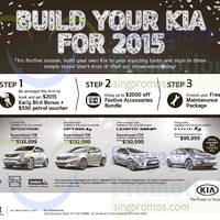 Kia Sportage, Optima K5, Forte K3 & Cerato Koup Offers 20 Dec 2014