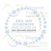 Kikki.K 20% Off Promo @ ION Orchard 17 - 24 Dec 2014