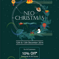 Read more about Kinokuniya Bookstores 10% OFF Storewide Promotion 12 - 13 Dec 2014