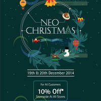 Kinokuniya Bookstores 10% OFF Storewide Promotion 19 - 20 Dec 2014
