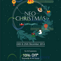 Read more about Kinokuniya Bookstores 10% OFF Storewide Promotion 24 - 25 Dec 2014