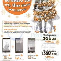 Read more about M1 Smartphones, Tablets & Home/Mobile Broadband Offers 6 - 12 Dec 2014