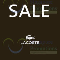 Read more about Lacoste SALE 19 Dec 2014