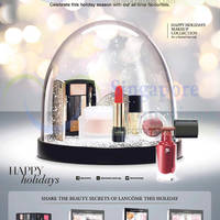 Read more about Lancome Happy Holidays Makeup Collection Promotion 18 Dec 2014