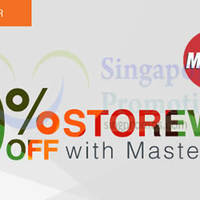 Lazada 10% OFF Storewide With MasterCard (NO Min Spend) 22 Dec 2014