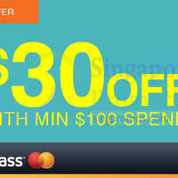 Read more about Lazada $30 OFF Storewide With MasterPass 12 Dec 2014