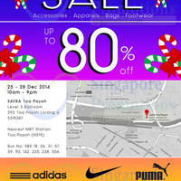 Link THM Post Xmas SALE (Puma, Nike, Adidas & More) 25 - 28 Dec 2014