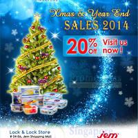 Read more about Lock & Lock 20% OFF @ Jem 17 Dec 2014