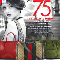 Read more about LovethatBag Branded Handbags Sale Up To 75% Off @ Mandarin Orchard 6 - 7 Dec 2014