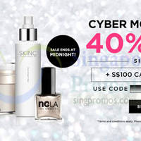 Read more about Luxola 40% OFF Storewide (NO Min Spend) Cyber Monday 1-Day Coupon Code 1 Dec 2014