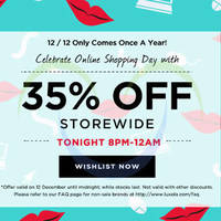 Read more about Luxola 35% OFF Storewide (NO Min Spend) 4hr Coupon Code 12 Dec 2014