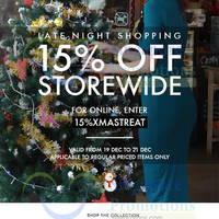 Read more about MDS Collections 15% OFF Storewide Promo 19 - 21 Dec 2014