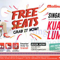 Read more about Malindo Air Kuala Lumpur Free Seats Promotion 11 - 21 Dec 2014