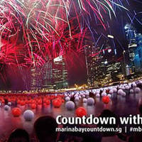 Marina Bay Countdown 2015 @ Marina Bay 31 Dec 2014