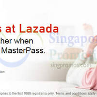 Read more about Mastercard MasterPass Register & Get Free $50 Lazada Voucher 2 Dec 2014