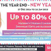 Read more about Maternity Exchange Year End Sale 27 Dec 2014 - 18 Jan 2015
