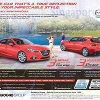 Read more about Mazda 3 Sedan & Hatchback Features & Offers 27 Dec 2014