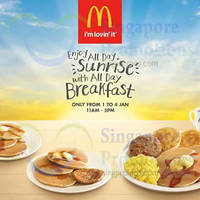 Read more about McDonald's All-Day Breakfast Promo 1 - 4 Jan 2015