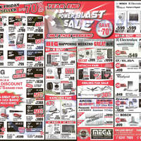Read more about Mega Discount Store TVs, Gas Hobs & Other Appliances Offers 6 - 7 Dec 2014
