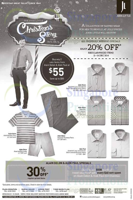 Men Apparel, Alek Paul, Alain Delon, Long Sleeved Business Shirts, Polo Tees, Bermudas, Pants