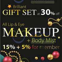 Missha 15% Off Lip & Eye & Perfume Body Mist Promo 20 - 31 Dec 2014