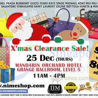 Read more about Nimeshop Branded Handbags Sale @ Mandarin Orchard 25 Dec 2014