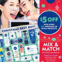 Read more about Nivea Spend $25 & Get $5 Off @ Guardian & Watsons 4 - 25 Dec 2014