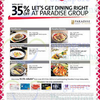 Read more about Paradise Group Restaurants Up To 35% Off For OCBC Cardmembers 4 Dec 2014