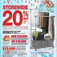 OG 20% OFF Storewide Joy of Giving Promo 18 - 24 Dec 2014