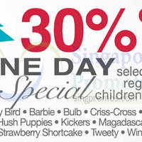 Read more about OG 30% OFF Selected Children's Apparel Brands 1-Day Promo 6 Dec 2014