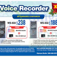 Read more about Olympus Voice Recorders X-Mas Sale Offers 1 - 31 Dec 2014
