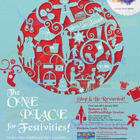 Read more about One@Kentridge Christmas Promotions & Activities 1 Dec 2014 - 4 Jan 2015