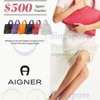 Read more about Aigner Spend $1500 & Get $200 Voucher Promo @ Paragon 6 - 31 Dec 2014