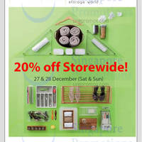 Read more about Howards Storage World Post Christmas Sale 27 - 28 Dec 2014