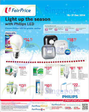 NTUC Fairprice Electronics Groceries Christmas Offers More 18 31 De